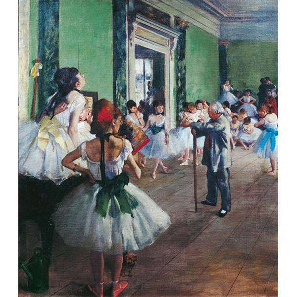 The Dance Class jigsaw puzzle