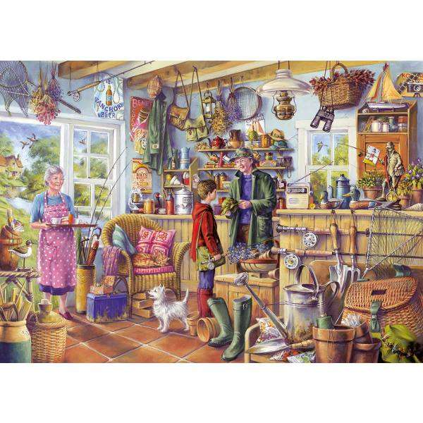 The Fishing Shed jigsaw puzzle