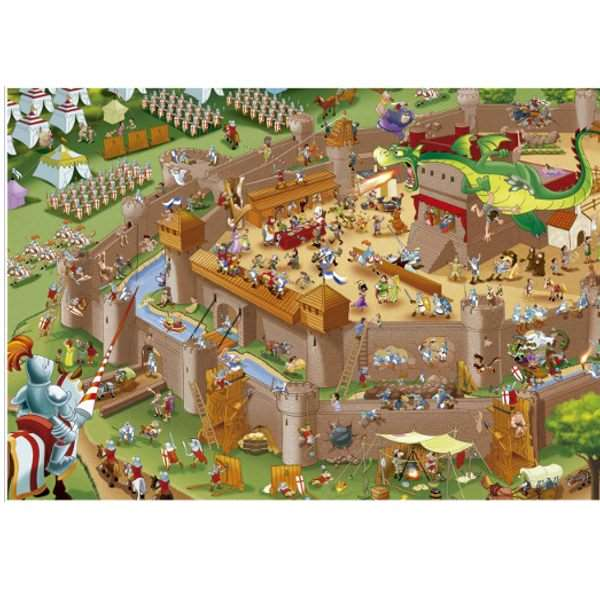 The Middle Ages - 1000pc jigsaw puzzle