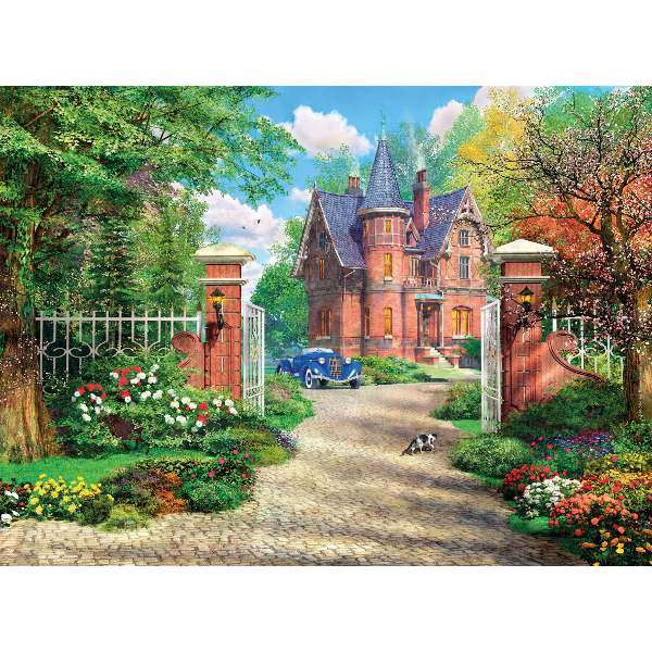 The Red Brick Cottage - 500pc jigsaw puzzle