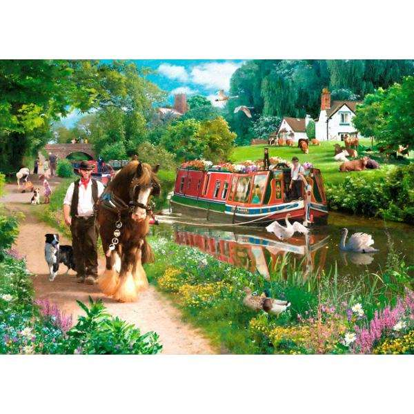 Tow Path - 1000pc jigsaw puzzle