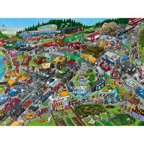 Traffic Jam - 1500pc jigsaw puzzle