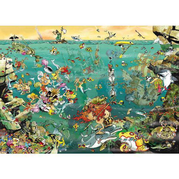 Under Water - 1000pc jigsaw puzzle