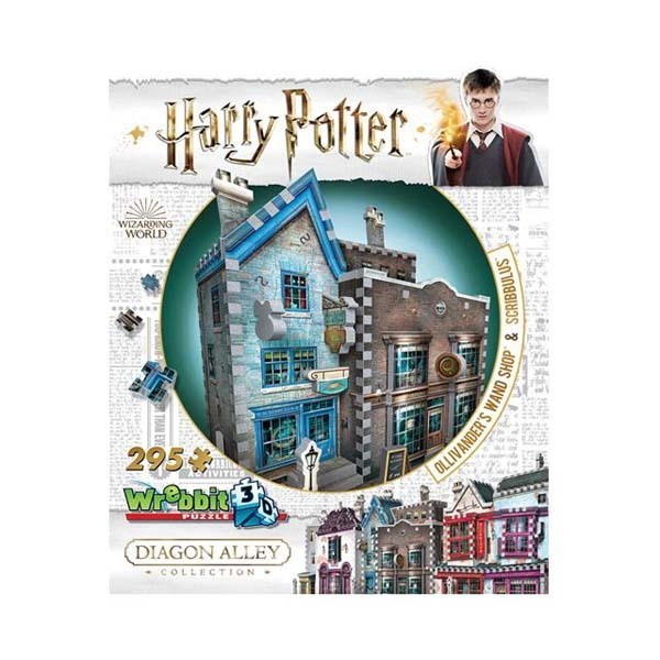 Wrebbit - Harry Potter - Ollivanders and Scribbulus - 295 pieces jigsaw puzzle
