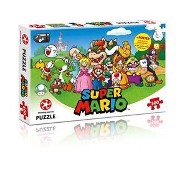 Mario and Friends - 500pc jigsaw puzzle