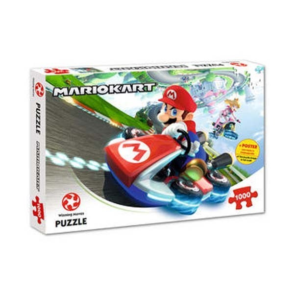 Mario Kart - Funracer - 1000pc jigsaw puzzle