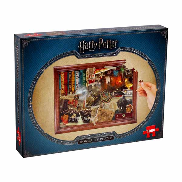 Harry Potter - Hogwarts - 1000pc jigsaw puzzle