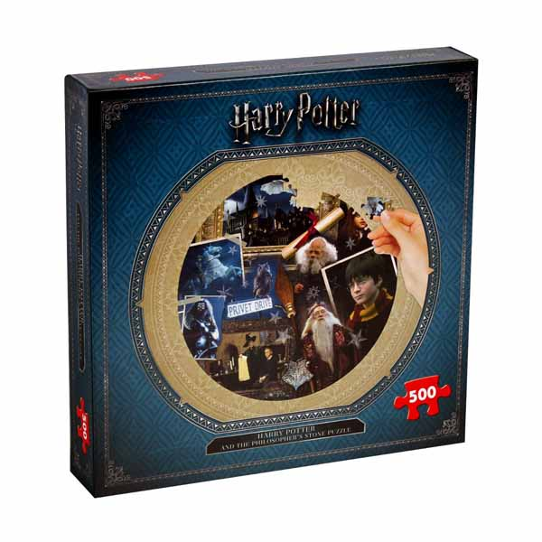 Winning Moves - Harry Potter and the Philosophers Stone - 500pc jigsaw puzzle