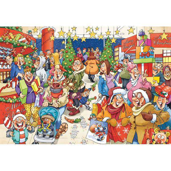 Wasgij - Christmas 2 x 1000 Puzzles Jigsaw Puzzle from Jigsaw Puzzles ...