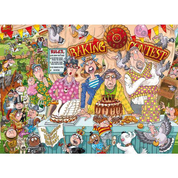Wasgij Original 23 - The Bake Off - 1000pc jigsaw puzzle