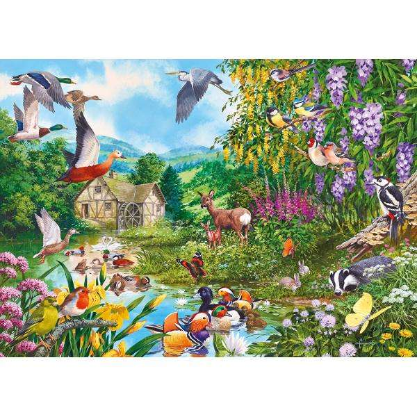 Waters Edge -1000pc jigsaw puzzle