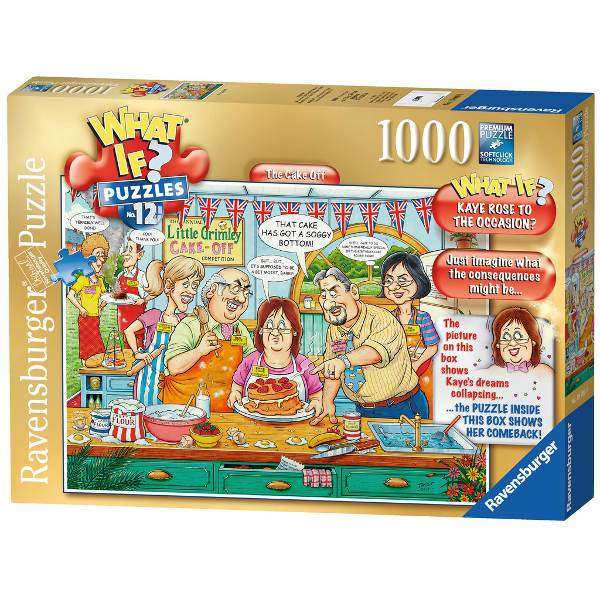 What If 12 - The Cake Off - 1000pc jigsaw puzzle