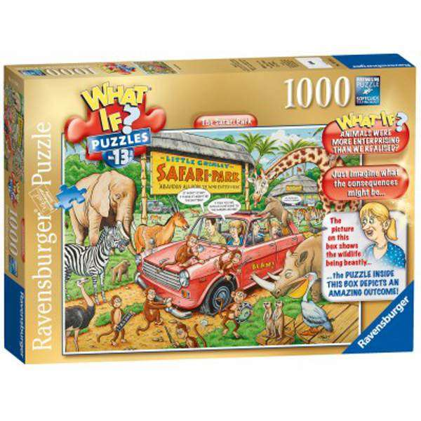 What If 13 - Safari Park - 1000pc jigsaw puzzle