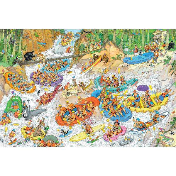 Wild Water Rafting - 1500pc - JvH jigsaw puzzle