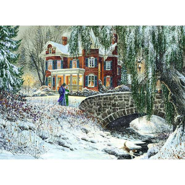 Winter Lace jigsaw puzzle