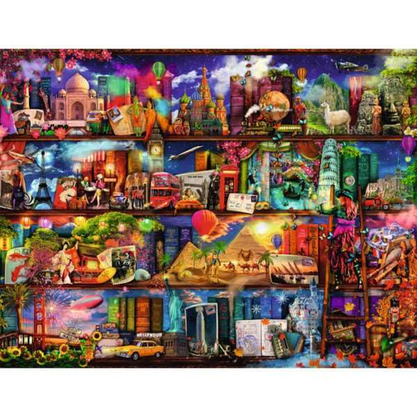 World of Books jigsaw puzzle