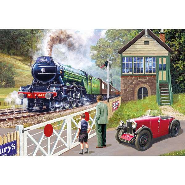 Back on Track Flying Scotsman - 500pc jigsaw puzzle