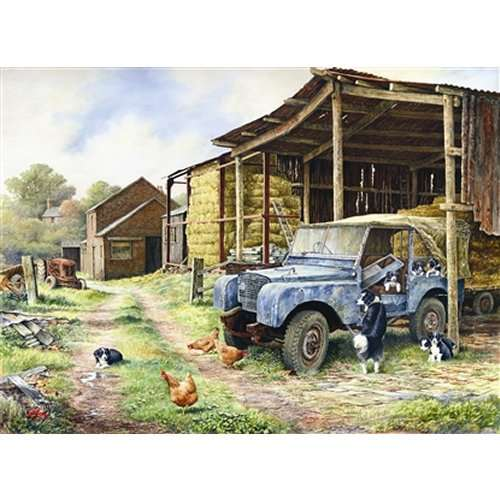 Mobile Home jigsaw puzzle