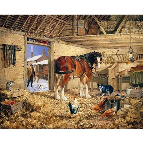 Stable Mates jigsaw puzzle