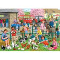 A Day at the Farm - 1000pc