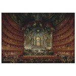 Performance at the Teatro Argentina - Giovanni Paolo Panini - 2000pc