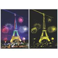 Eiffel Tower Glow In Dark - 1000pc