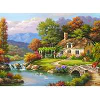 Cottage Stream - 1000pc