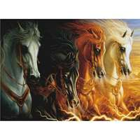 The Four Horses Of Apocalypse - 1000pc