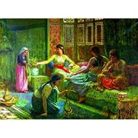 Interior Of A Harem - 1000pc