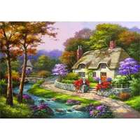 Spring Cottage - 500pc