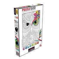 Night Owls - Colouring Puzzle -500pc