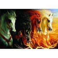 The Four Horses of the Apocalypse - 2000pc