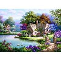 The Swan Cottage - 1500pc