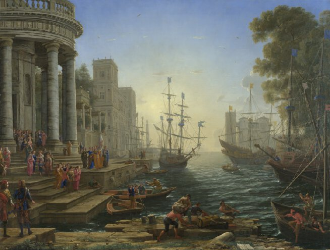 Seaport With The Embarkation of Saint Ursula - 3000pc
