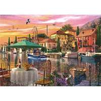 Sunset Harbour - 3000pc