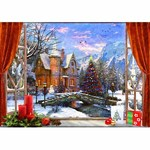 Christmas Mountain View - 1500pc