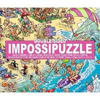 Impossible Double Sided Puzzle � Beach & Penguin