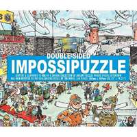 Impossible Double Sided Puzzle � Airport & Elephant