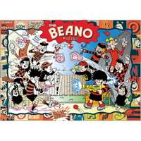 Beano Past and Present - 1000pc