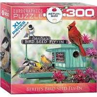 Berties Bird Seed Fly-Inn - Extra Large Piece