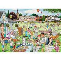 Best of British - The Cricket Match - 1000pc