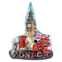 Big Ben - Shaped Silhouette - 1000pc