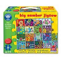 Big Number Jigsaw -  20pc