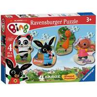 Bing Bunny - 4 Shaped Puzzles