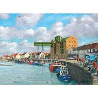 Boats on View At Wells - 1000pc