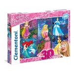 Disney Princesses - 3D Vision - 104pc