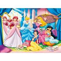 disney princess - shining jewels 24 piece maxi puzzle