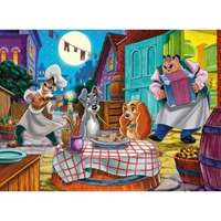 lady and the tramp - romantic night 24 piece maxi puzzle