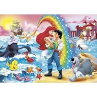 little mermaid - rainbow 24 piece maxi puzzle