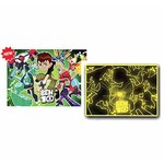 Ben 10 - Fluorescent - 104 Pieces